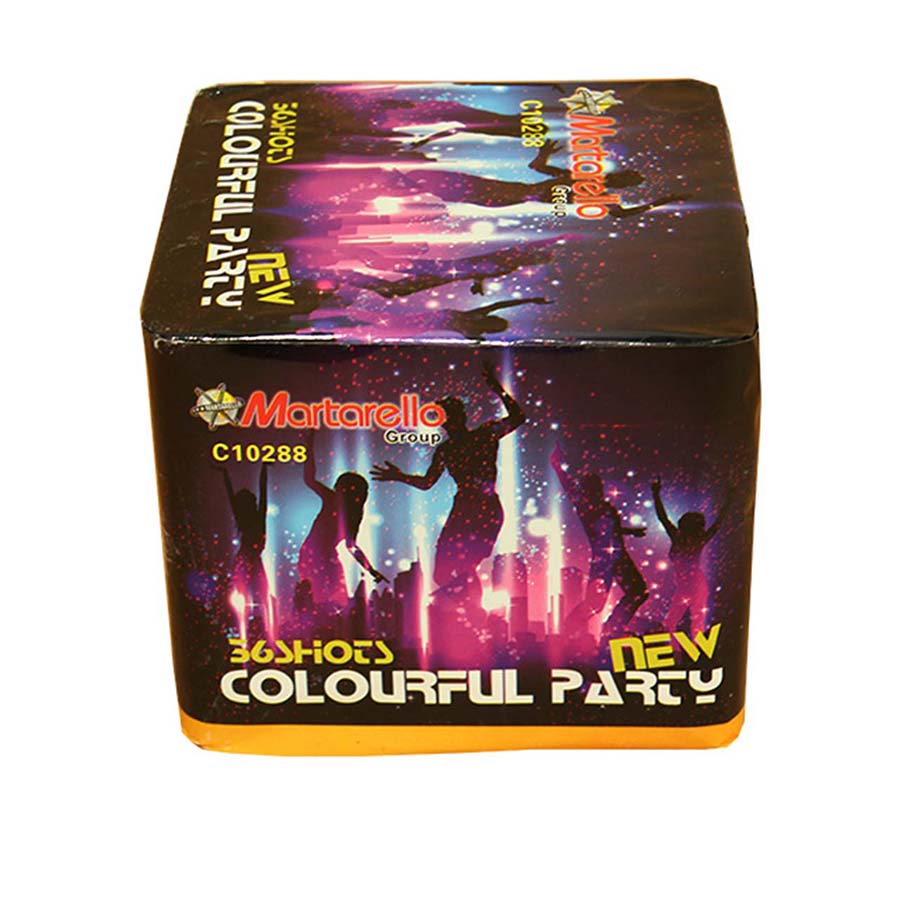 Colorful party new C10288